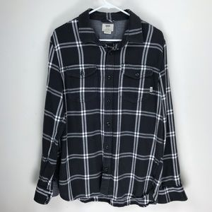 Vans Off The Wall Flannel Button Down Sz. M